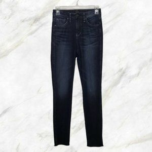 SILVER JEANS blue Isbister high rise skinny jean